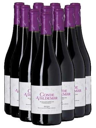 Conde de Valdemar Tempranillo Rioja 12er Angebot