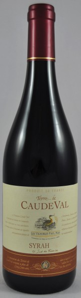 Caude Val Syrah Rotwein Rouge IGP Paul Mas Frankreich