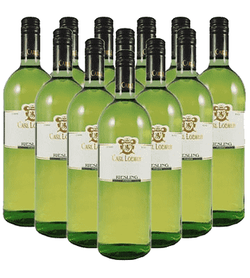 Carl Loewen Riesling feinherb Mosel Liter 12er Angebot