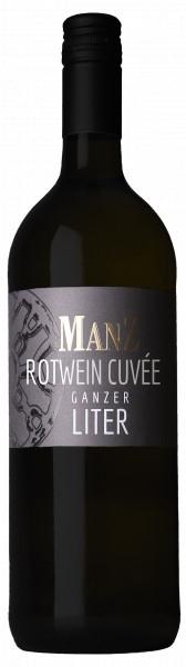 Manz Rheinhessen Rotwein Liter mild Rheinhessen