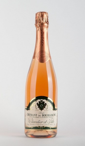 Cremant de Bourgogne Rosé Clavelier et Fils Frankreich Die Bodeg