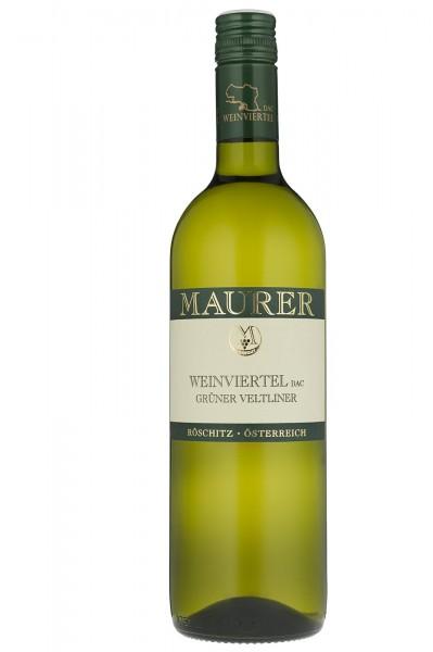 Maurer Grüner Veltliner trocken Weinviertel DAC Wein Österreich