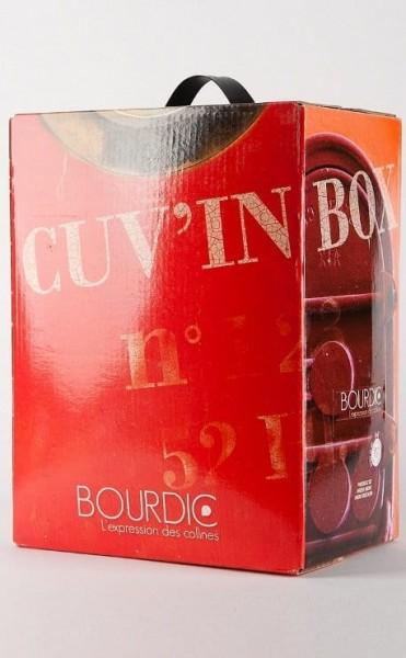 Bourdic Bag in Box Cuvee Rouge Rhone Frankreich 5,0 l