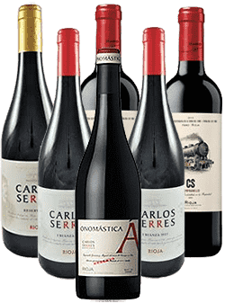 Carlos Serres Rioja Tintos 6er Weinpaket Spanien