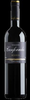 Canforrales Reserva Tempranillo La Mancha Wein Spanien Bodega