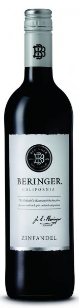 Beringer Zinfandel California Classic Napa Valley USA