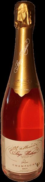 Serge Mathieu Champagner Rosé Brut Frankreich