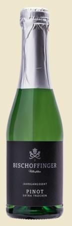 Bischoffinger Pinot Blanc Sekt Extra Trocken Baden 0,2 l Piccolo