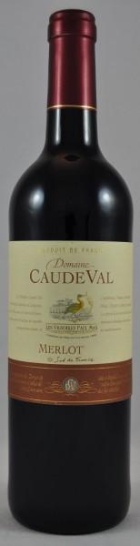 Caude Val Merlot Rotwein Rouge IGP Paul Mas Frankreich