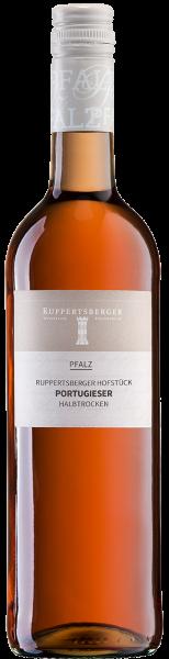 Ruppertsberger Portugieser Weißherbst halbtrocken Hofstück Pfalz