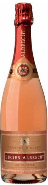 Lucien Albrecht Cremant Rosé Brut d'Alsace Frankreich
