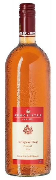 Brogsitter Portugieser Rosé feinherb QbA Rheinhessen 1,0 l
