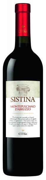 Sistina Montepulciano d'Abruzzo Rosso DOC Italien
