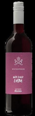 Bischoffinger Wir sind Liebe Rotwein trocken QbA Baden