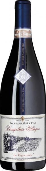 Bouchard Aine Beaujolais Wein La Vigneronne Frankreich