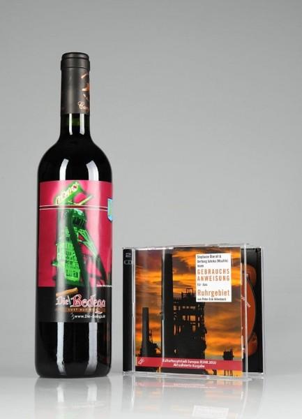 Weinpräsent Ruhrgebiet Hörbuch & Rotwein / Wein Shop - Die Bodeg