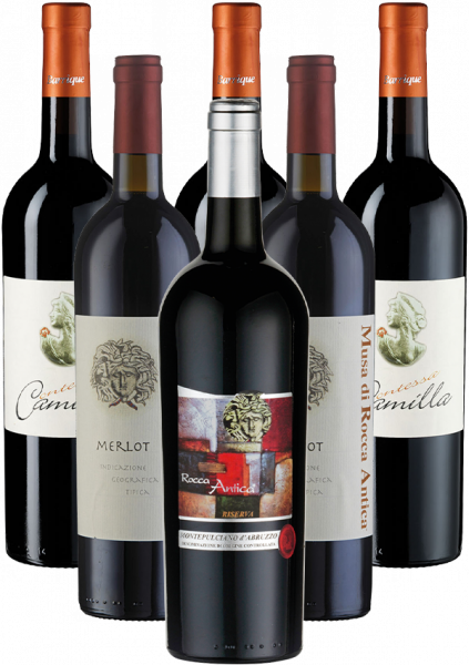 Di Camillo Vini Probierpaket Rotwein Italien 6er Angebot