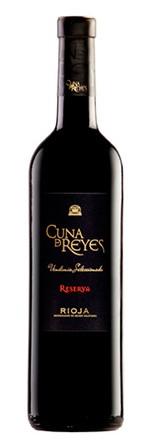 Cuna de Reyes Reserva Tinto Rioja Rotwein Spanien