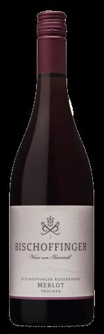 Bischoffinger Merlot Rotwein trocken QbA Kaiserstuhl