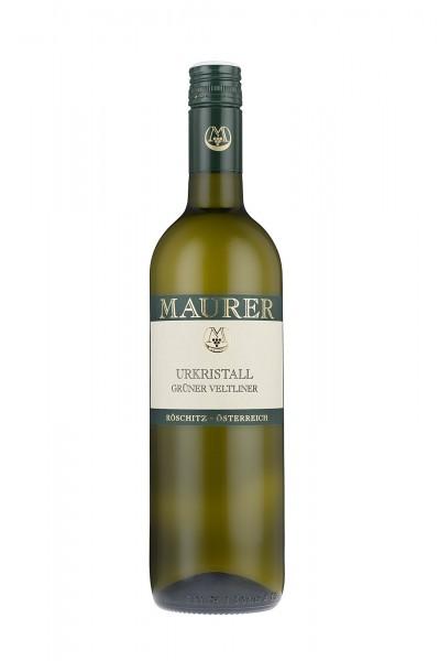 Urkristall Grüner Veltliner trocken Maurer Wein Österreich