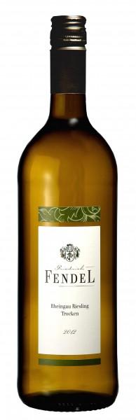 Fendel Riesling QbA trocken 2012 Liter Rheingau