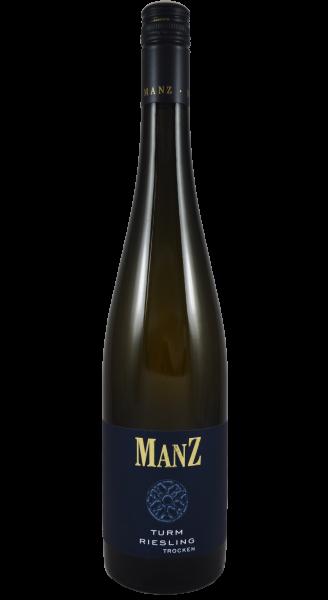 Manz Turm Riesling Spätlese Weißwein trocken Rheinhessen