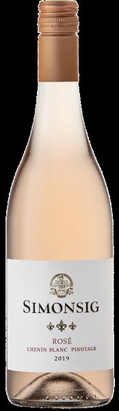 Simonsig Rosé Chenin Blanc Pinotage Stellenbosch Südafrika