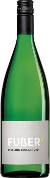 Fußer Riesling trocken Liter QbA Pfalz