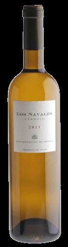 Los Navales Nieva Verdejo Blanco Rueda Wein Spanien