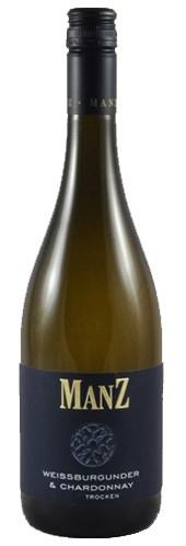 Manz Chardonnay & Weißburgunder Weißwein trocken Rheinhessen