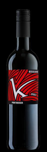 Lukas Kesselring Portugieser Rotwein trocken Pfalz Bio Vegan