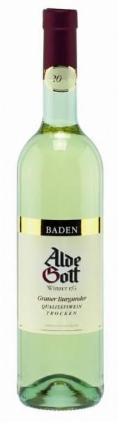 Grauer Burgunder trocken Alde Gott Wein QbA Baden Die Bodega