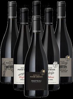 Fond Croze Rotwein Probierpaket 6er Angebot BIO