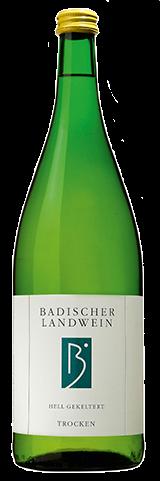 Bischoffinger Badischer Landwein trocken Kaiserstuhl Baden 1,0 l