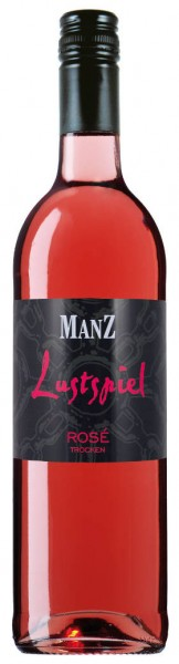 Lustspiel Manz Rosé Cuvee trocken Rheinhessen