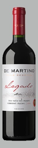 De Martino Cabernet Malbec Legado Valle de Maipo 2014 Chile