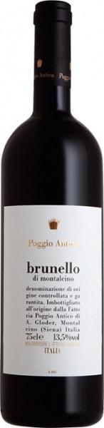 Brunello Riserva Wein Poggio Antico Rosso DOCG Italien