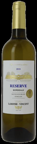 Chateau Lamothe-Vincent Reserve Blanc Bordeaux Frankreich