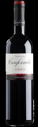 Canforrales Tempranillo Clasico Tinto Campos Reales Spanien