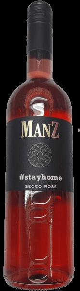 Manz Secco Rosé Stay Home trocken Rheinhessen