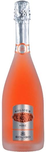 Soligo Solicum Rosé Prosecco Spumante Brut Italien