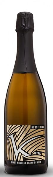 Lukas Kesselring Pinot Blanc de Noir Sekt Brut Pfalz