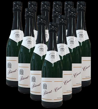 Sekt Privat Cuvee trocken Der Weinhof 11+1 Angebot