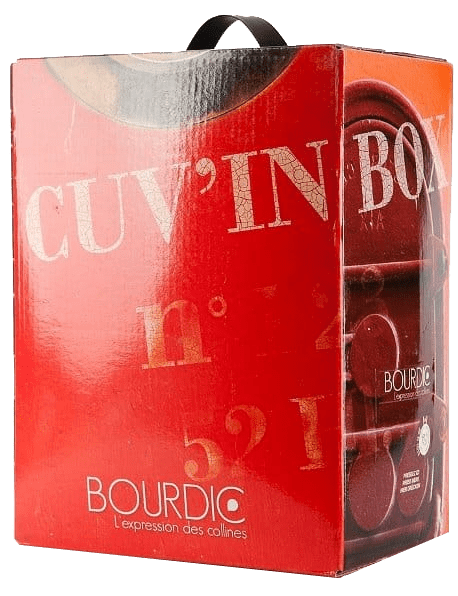 Bourdic Bag in Box Merlot Campagnac Rouge