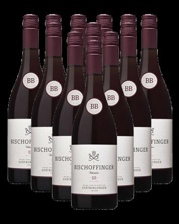 Bischoffinger Spätburgunder BB Rotwein trocken 12er Angebot