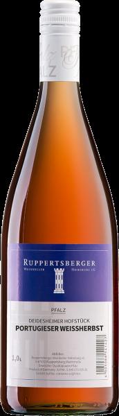 Ruppertsberger Portugieser Weißherbst mild 1,0 l Pfalz