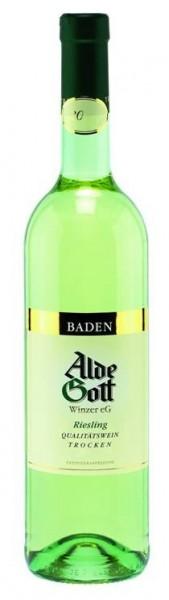 Riesling trocken Alde Gott QbA Weißwein aus Baden Die Bodega onl