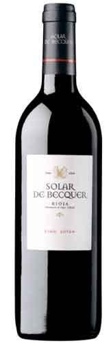 Solar de Becquer Tinto Joven Rioja Spanien