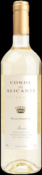 Conde de Alicante Blanco Semidulce Bocopa Spanien