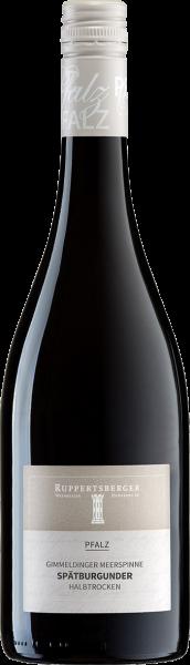 Ruppertsberger Spätburgunder Rotwein halbtrocken QbA Pfalz